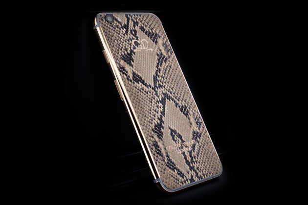 Luxury iPhone 6 by Golden Dreams - Design Edition Python Brown