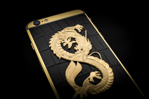 Luxury iPhone 6 by Golden Dreams - Dragon Edition Black