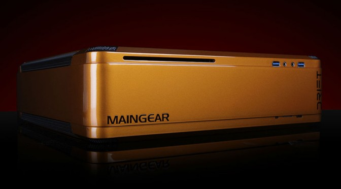 Maingear Outs Console-size Steam Machine, Touts 4K Gaming Experience