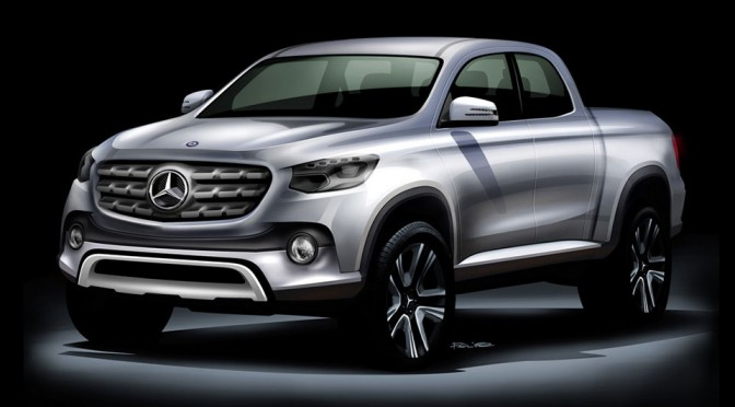 Mercedes-Benz Midsize Pickup Truck