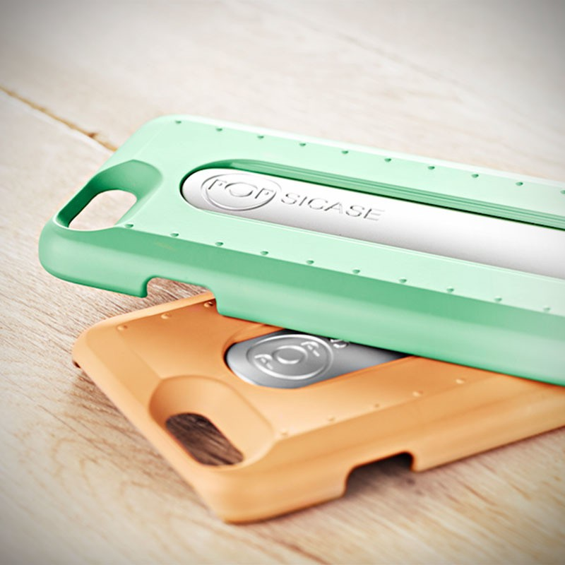 meet popsicase the first iphone case with an integrated selfie stick mikeshouts. Black Bedroom Furniture Sets. Home Design Ideas