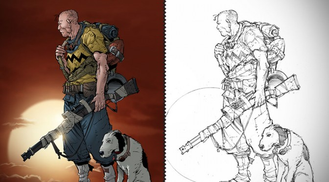 Post-apocalyptic Take on Snoopy and Charlie Brown by Max Dunbar-Vitali Lakovlev-Sean Ellery
