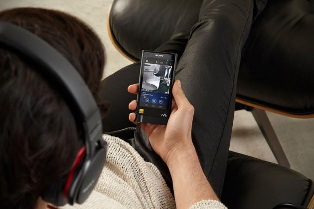 Sony Walkman NW-ZX2 Hi-Res Digital Music Player
