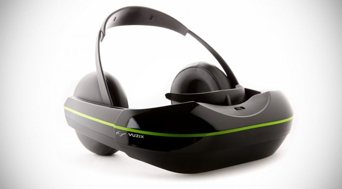 Vuzix iWear 720 Video Headphones