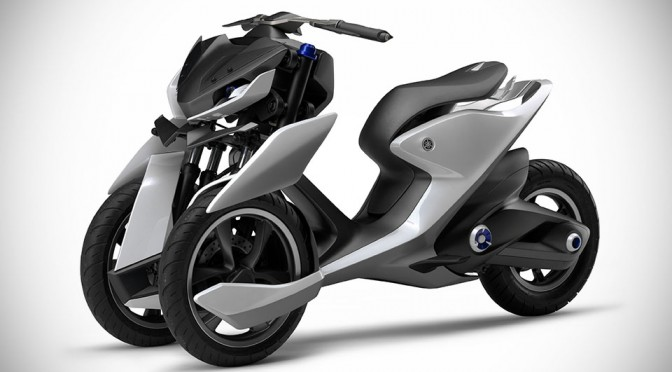 Yamaha 03GEN Concept: 3-wheeled Scooter Never Looked This Good