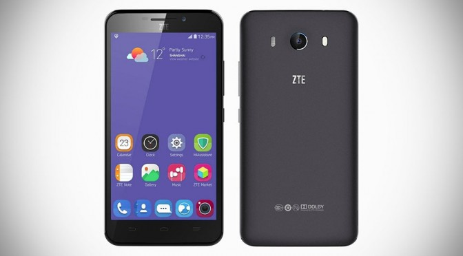 ZTE Grand S3 with Eyeprint ID Smartphone