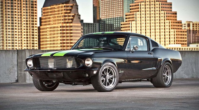 Texas-based Bloodshed Motors Turns a Classic 1968 Mustang into a 800HP Silent Monster
