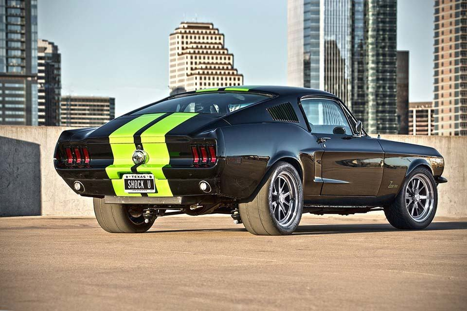 68 Mustang Zombie 222 Electric Car By Bloodshed Motors
