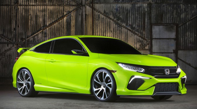 10th Generation Honda Civic Concept Unveiled, Looks Sporty, Bold and Weird All at the Same Time