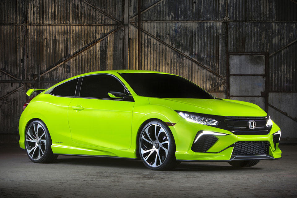 10th Generation Honda Civic Concept Unveiled, Looks Sporty ...