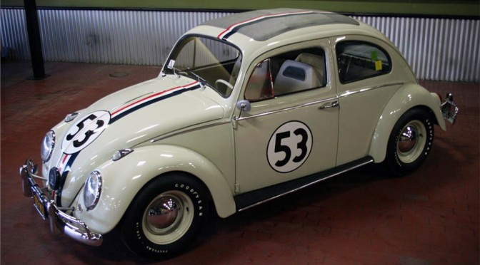 "1963 Volkswagen Beetle ""Herbie"" to go Under the Hammer at Barrett-Jackson Palm Beach Auctions"