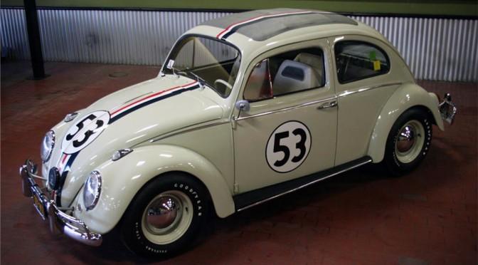 "1963 Volkswagen Beetle ""Herbie"" to go Under the Hammer at Barrett-Jackson Palm Beach Auctions"