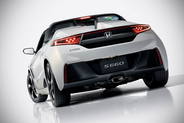 2015 Honda S660 Kei Sports Car