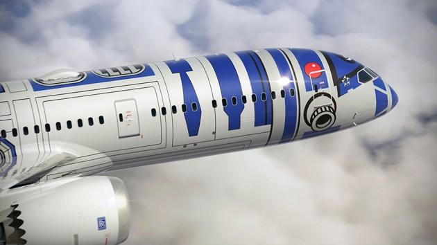 ANA B-787-9 Star Wars R2-D2 Jet
