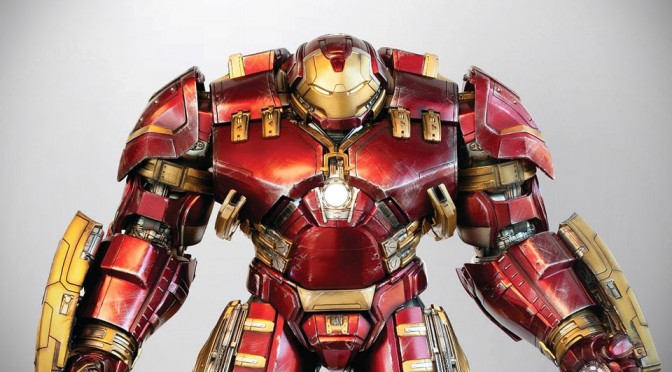 This 1/4 Scale Super Alloy Animatronic Hulkbuster Will Blow Your Mind