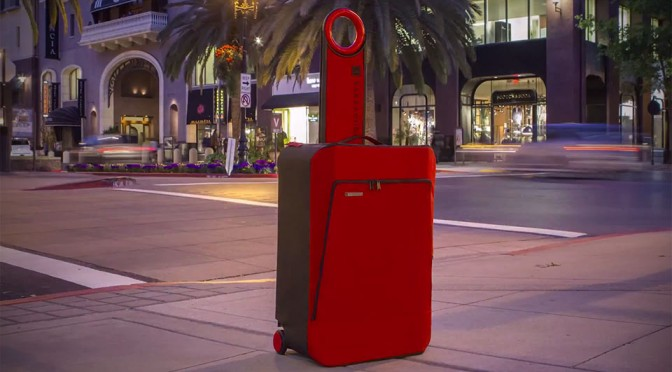 Barracuda is a Carry-on Luggage That Collapses to Just 4 Inches Thick