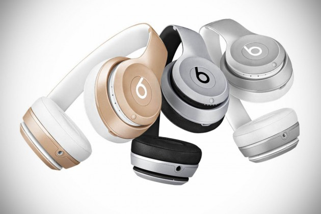 Beats Solo2 Wireless Headphones in iPhone Colors