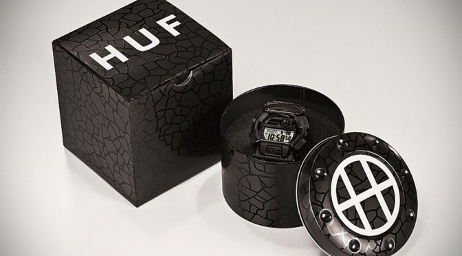 Casio G-SHOCK and Skateboard Lifestyle Brand HUF Collaborates to Release Limited Edition Watch