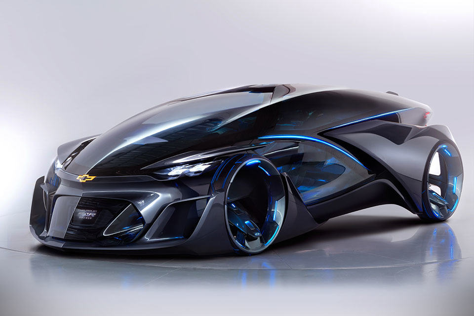 Chevrolet Autonomous Concept Car is as Futuristic as any ...