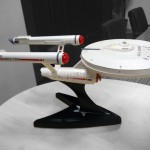 Star Trek Enthusiasts Transplanted a WiFi Router into a Model of the USS Enterprise and it Looks Awesome