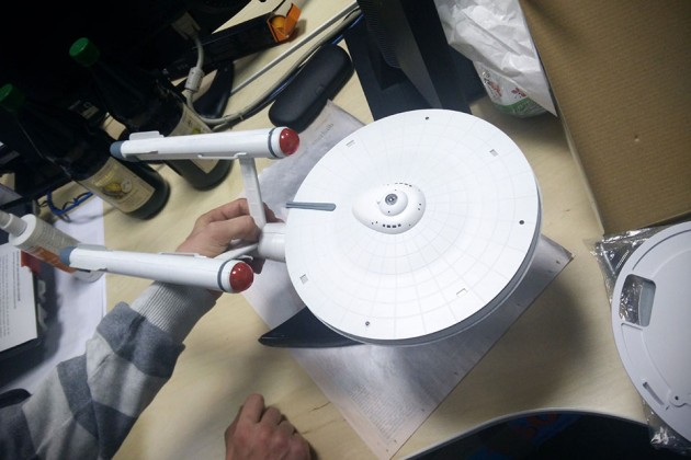 Custom Ubiquiti USS Enterprise WiFi Router