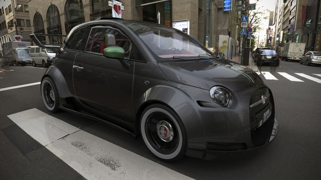 Fiat 550 Italia Concept powered by Ferrari V8 Engine