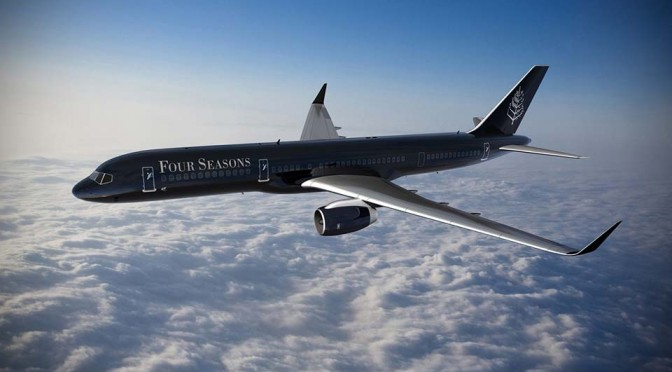 Meet Four Seasons Private Jet Experience, the Hotel Industry's First Fully Branded Jet
