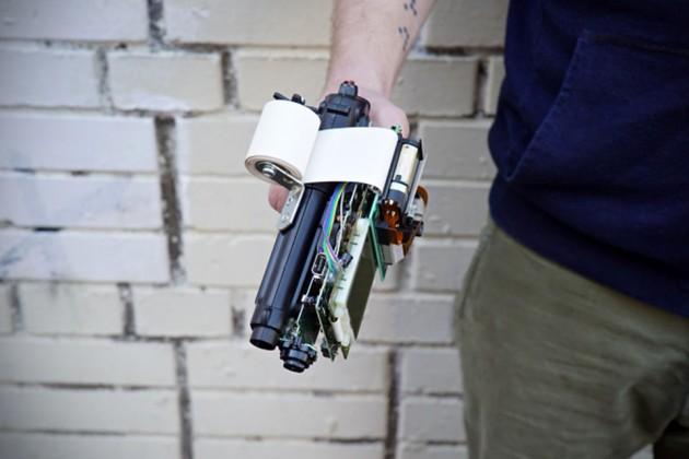GBG-8 Gun by Dmitry Morozov