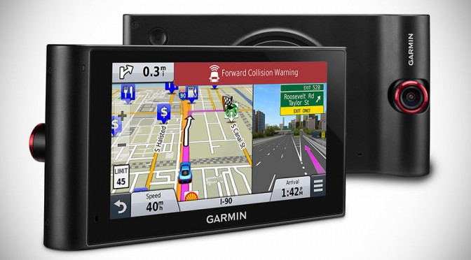 Garmin nüviCam LMTHD Portable Navigation Device