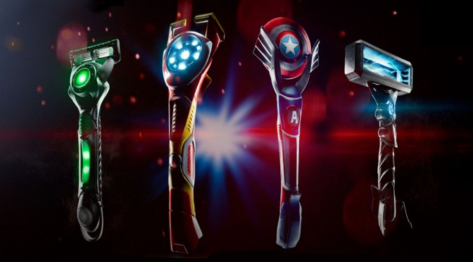 Gillette Razors by 'Stark Industries' Looks Dangerously Cool, Makes Us Scream 'Shut Up and Take Our Money!'