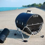 This BBQ Grill is Made of Fabric, Folds Up to Fit in your Backpack