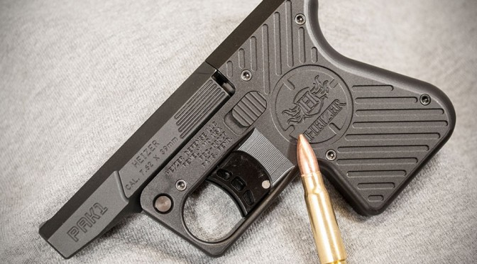 Heizer Defense's New Pocket Pistol Chambers 7.62 Rounds
