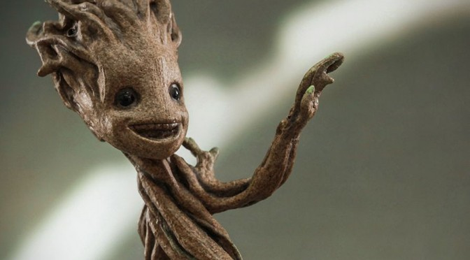 Cute Superhero: 1/4 Scale Guardians of the Galaxy Little Groot
