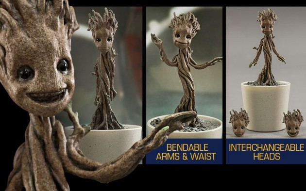 Hot Toys 1/4 Scale Guardians of the Galaxy Little Groot