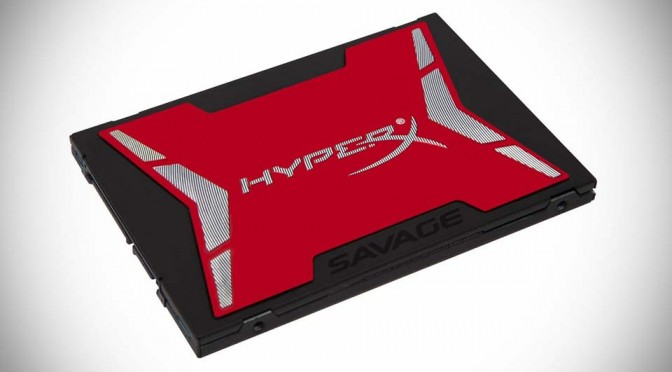 HyperX Savage SATA3-based SSD