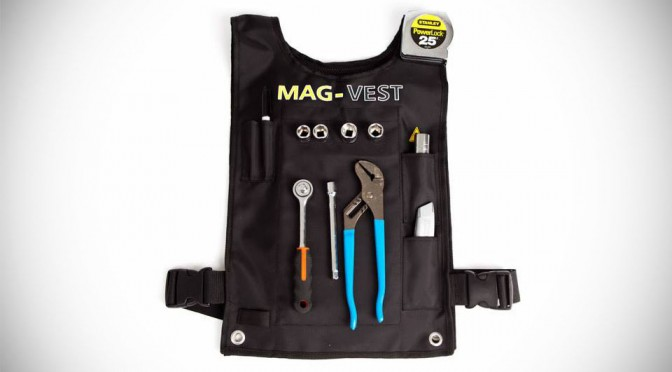 Who Needs Tool Belt When You Can Attach the Tools to Your Chest?
