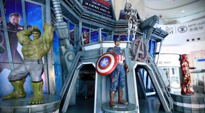 Marvel's Avengers: Age of Ultron Exhibition in Hong Kong Features a Hulking 10-Foot Tall Hulkbuster