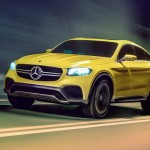 Mercedes-Benz 'Close-to-Production' Concept GLC Coupe Made its Appearance at Auto Shanghai 2015