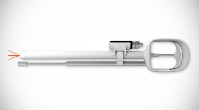 ODii Grab-it Gadget Goes Where No Grab-it Tool Has Gone, Including Very Tight and Dark Spaces