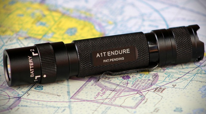 Meet A1T Endure, the World's First Dual Independent Selective Battery Powered Tactical Flashlight