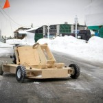 Flatpack Wooden Go-Kart Assembles in a Day, Reaches up to 25 MPH