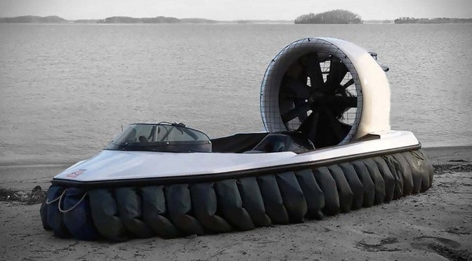 You Can Own the Terrain Like a Boss with Renegade Hovercraft, without Blowing Your Hearing