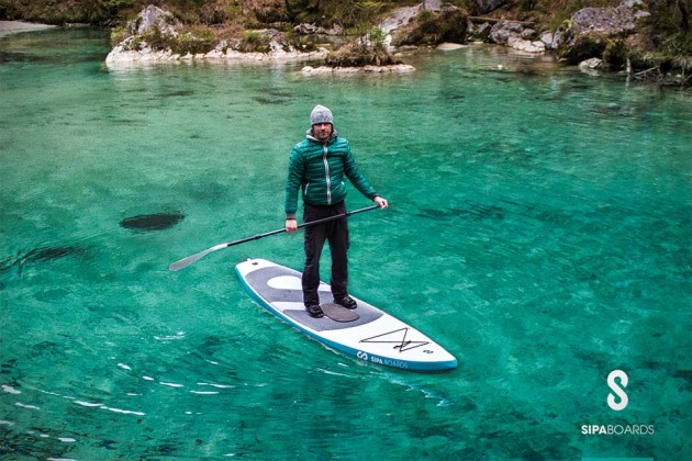 SipaBoard Self-inflating Electric Standup Paddleboard