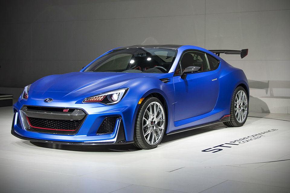 Subaru Unveils Sti Performance Concept A Sti Souped Up
