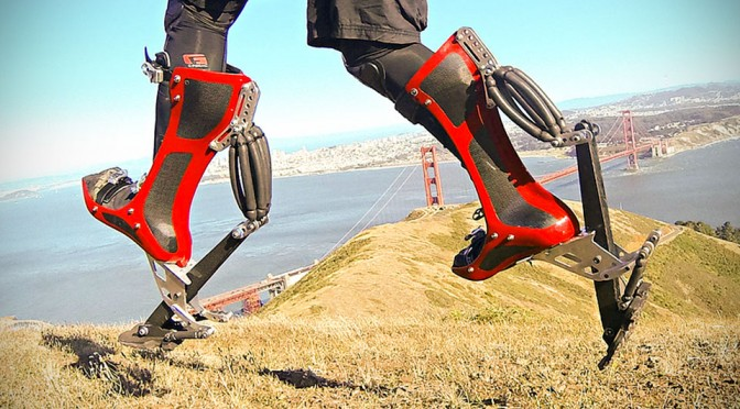 This Pair of Bionic Boot Will Turn You into a Real-life Bionic Man