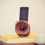 This Handsome Natural Amplification Smartphone Speaker will Fit Nearly All Smartphone Model