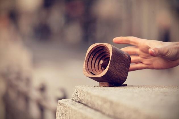 Trobla Wooden Natural Amplification Speaker