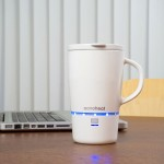 Nano Tech Wireless Heated Mug Will Keep Your Coffee Hot for 45 Minutes