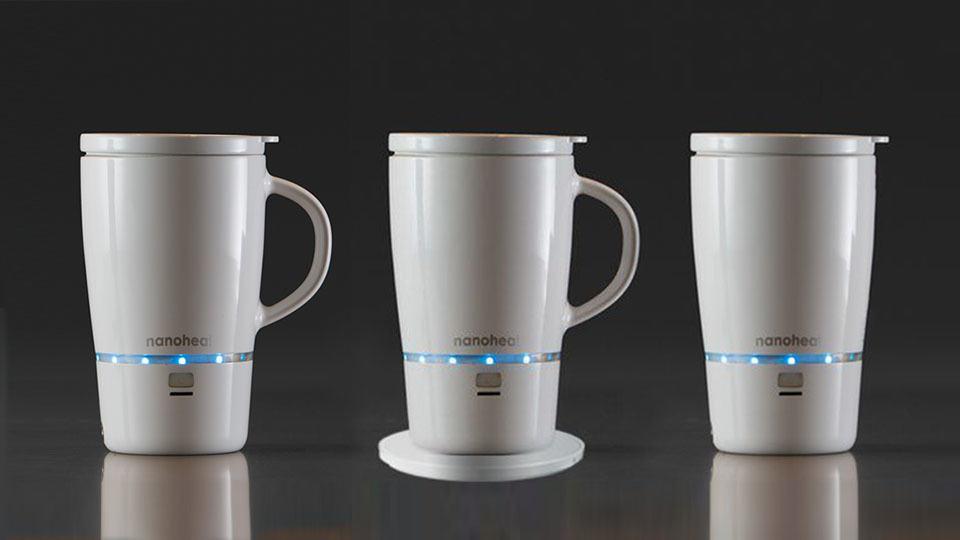 Nano Tech Wireless Heated Mug Will Keep Your Coffee Hot