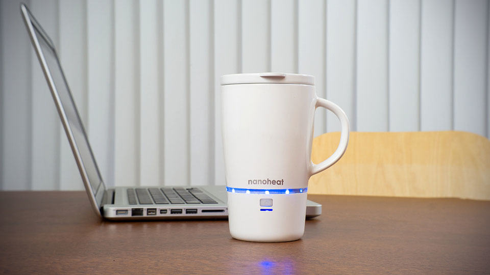 Best Coffee Cup To Keep Coffee Hot >> Nano Tech Wireless Heated Mug Will Keep Your Coffee Hot for 45 Minutes - MIKESHOUTS
